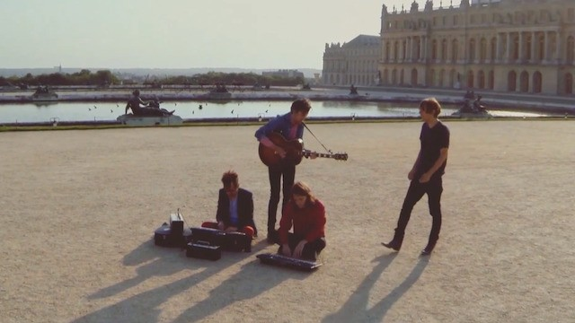 """Watch Phoenix Do """"Entertainment"""" Acoustic at the Palace of Versailles"""