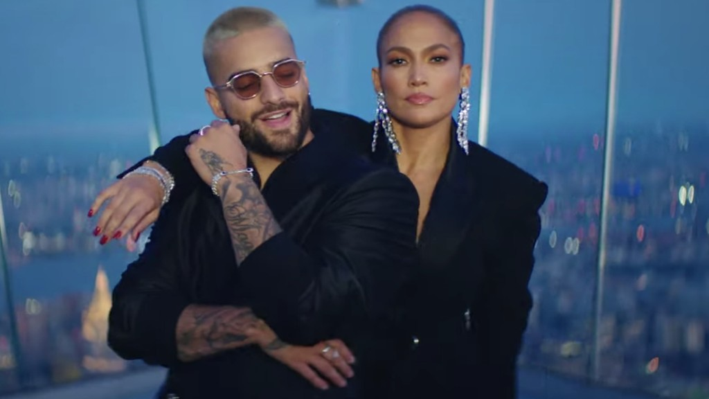 Jennifer Lopez and Maluma Share Video for New Songs: Watch