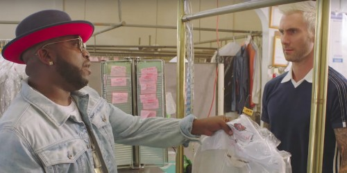 """Big Boi and Adam Levine Fall Out Over Dry Cleaning in New """"Mic Jack"""" Video: Watch"""