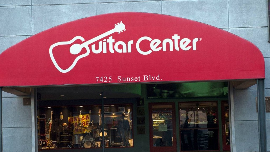 Guitar Center Files for Chapter 11 Bankruptcy