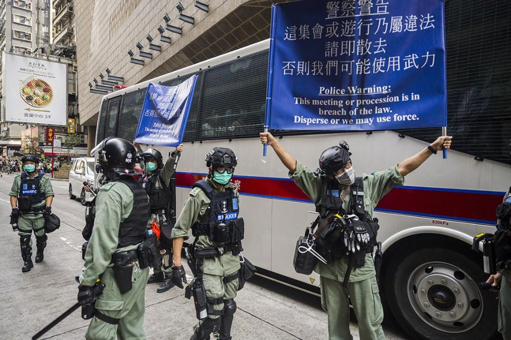 EU won't follow Trump into a trade war over Hong Kong