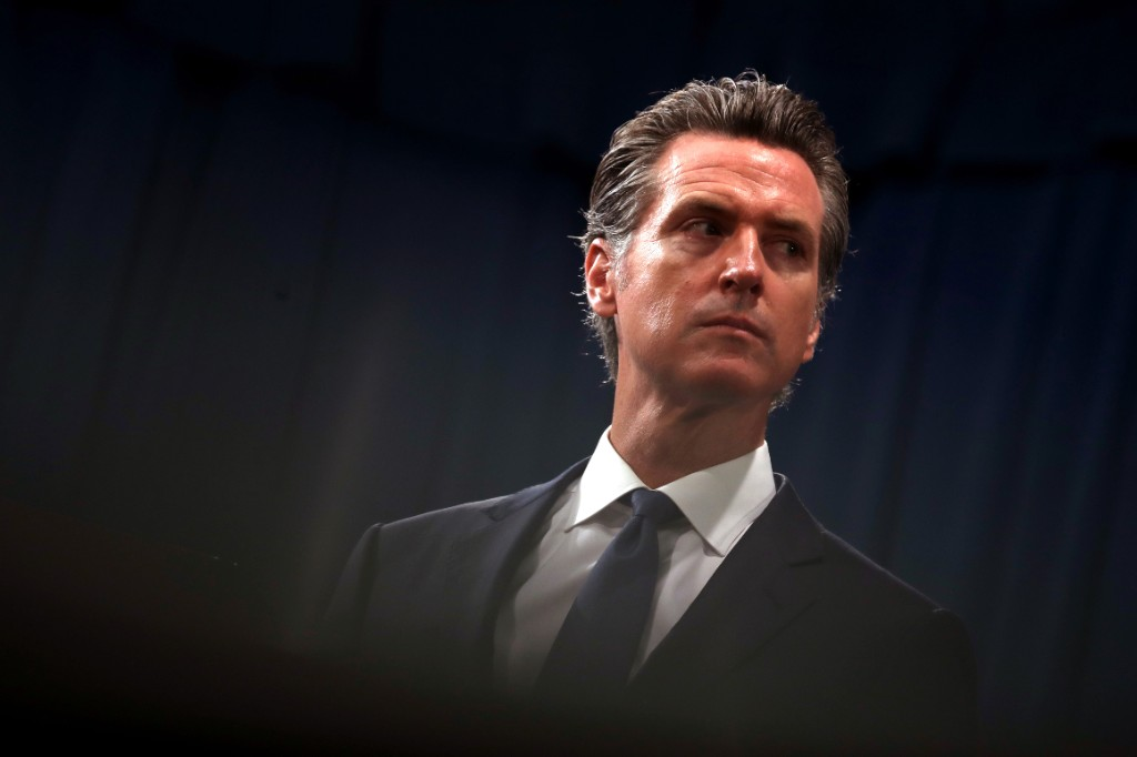 Newsom indicates California health officer's abrupt departure related to data blunder