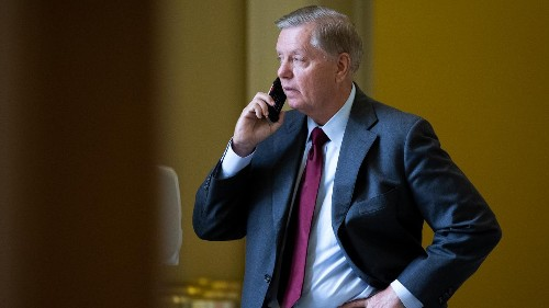 Lindsey Graham dishes on Trump in hoax calls with Russians