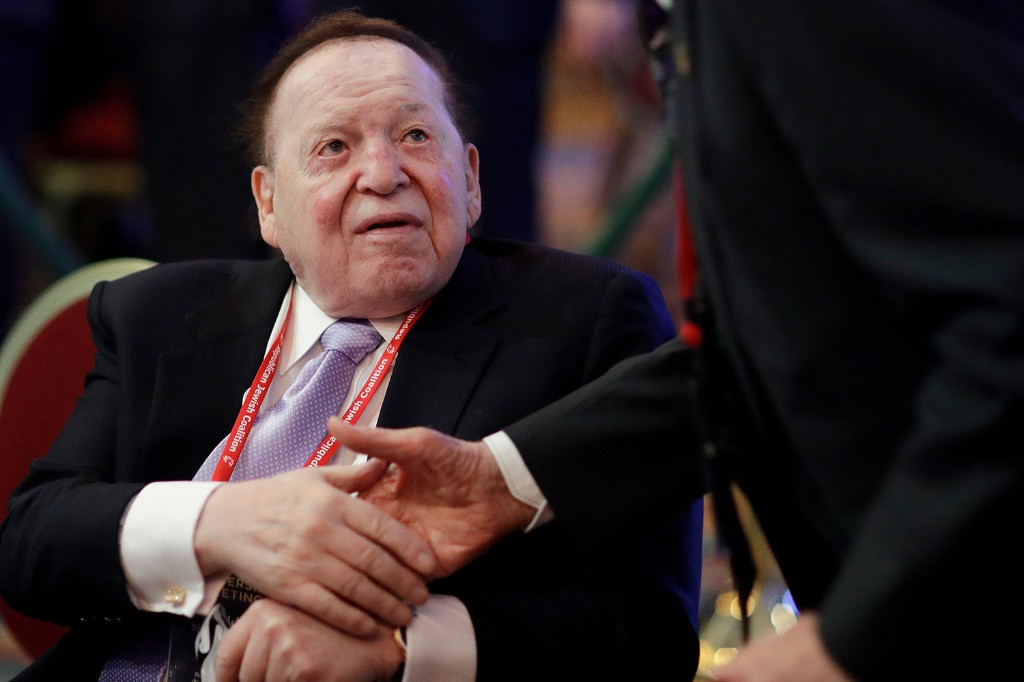 Trump antagonizes GOP megadonor Adelson in heated phone call