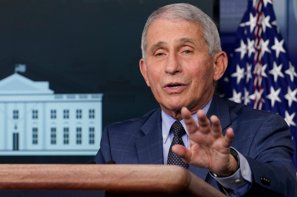 Fauci says U.S. could see 'a surge upon a surge' in coronavirus cases
