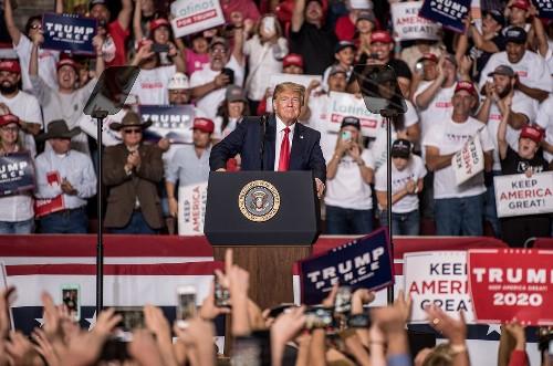 Unpaid bills pile up in Trump rallies' wake