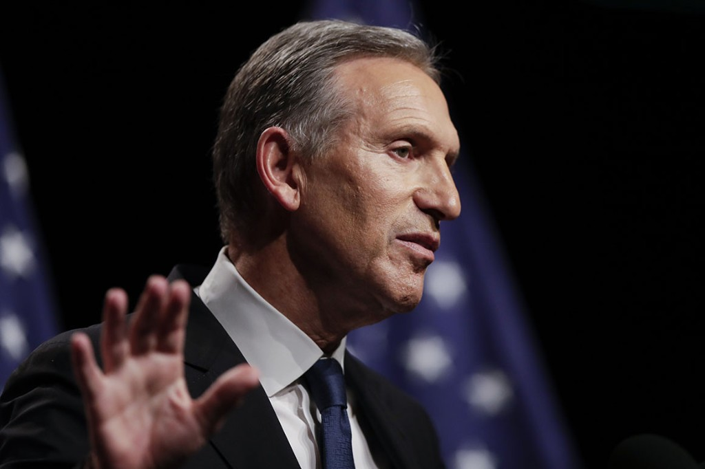 Howard Schultz announces he will not run for president