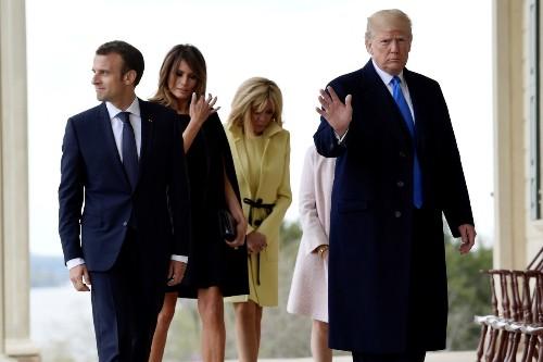Trump's 'truly bizarre' visit to Mt. Vernon - POLITICO