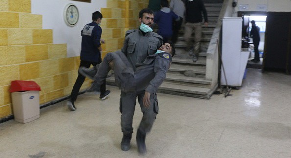 WHO says 500 patients showed symptoms of gas attack in Syria