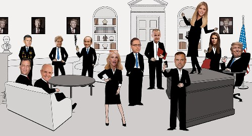 Portrait of a Trump West Wing