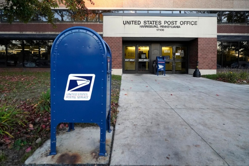 USPS AND DROP BOX VOTING - cover