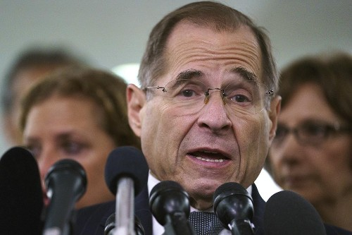 Nadler: Whitaker will be 'our very first witness'