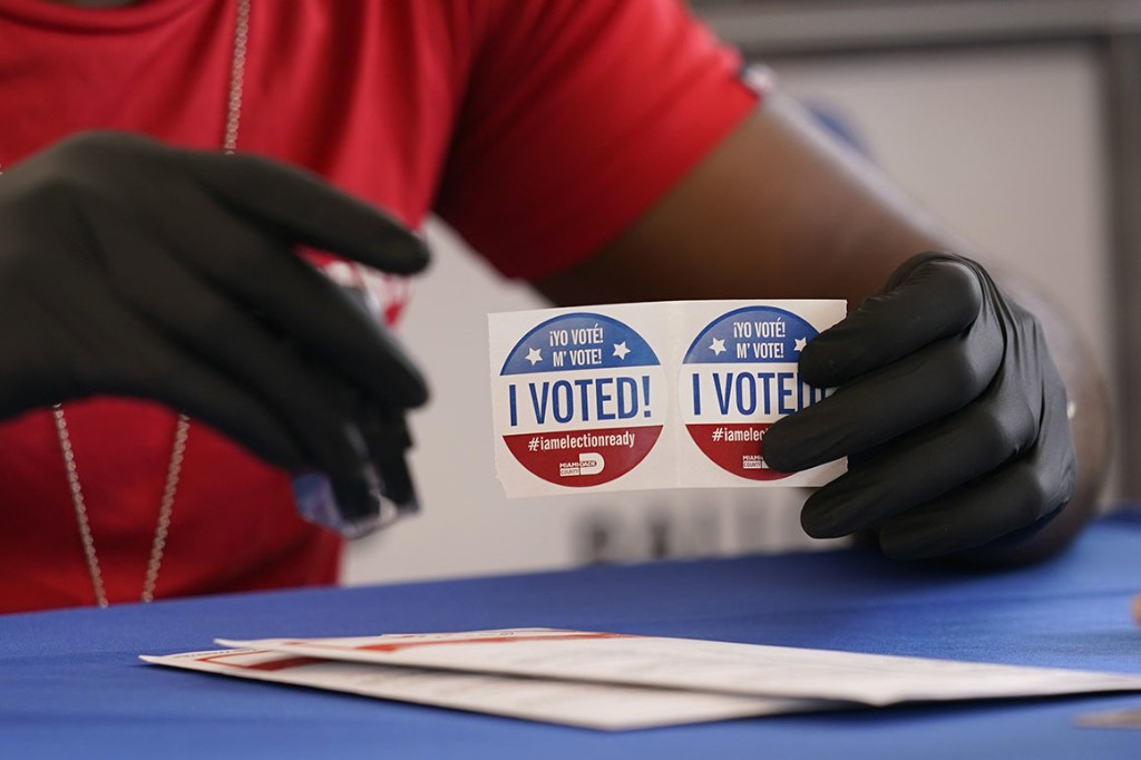 Zeta cuts short early voting in Florida Republican strongholds