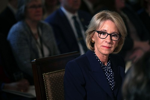 DeVos strikes out — in court