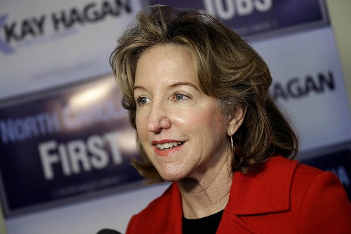 Former North Carolina U.S. Senator Kay Hagan dies