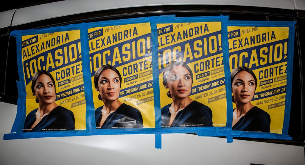 Surge of female candidates sparks an explosion of color