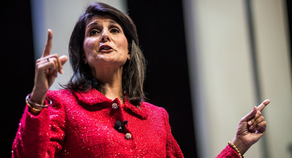 Nikki Haley to deliver State of the Union response