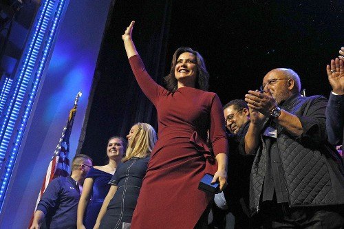Democrat Gretchen Whitmer wins Michigan governor's race