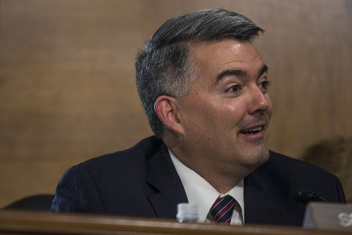 Gardner: Trump said he would sign pot bill - POLITICO