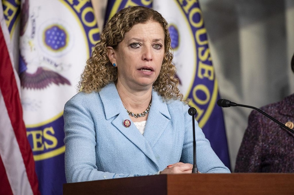 Wasserman Schultz pitches new spending panel on equity, justice, diversity