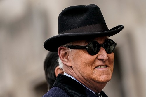 Why President Trump Can't Pardon Roger Stone