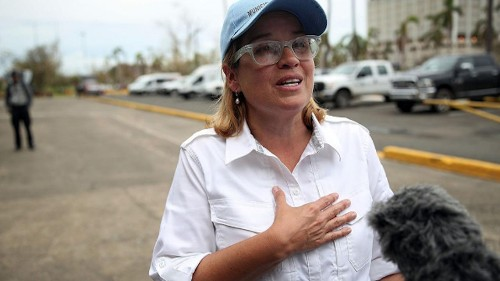 San Juan mayor lambastes Trump's 'insulting' visit to Puerto Rico