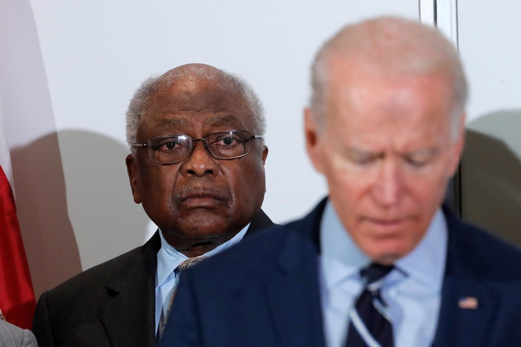 Clyburn says he 'cringed' at Biden's 'you ain't black' gaffe but reiterates support