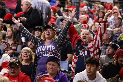 The unexpected joy at a Trump rally in Iowa