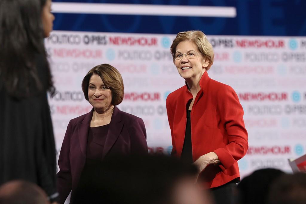 New York Times ed board endorses Warren, Klobuchar