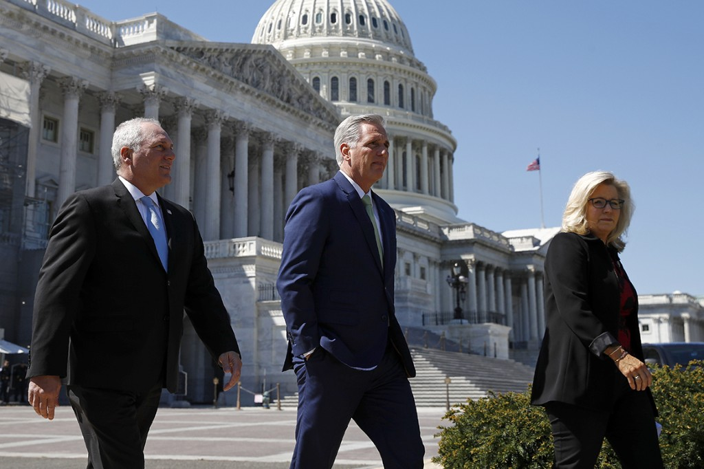 Republicans prep for leadership battle if Trump goes down
