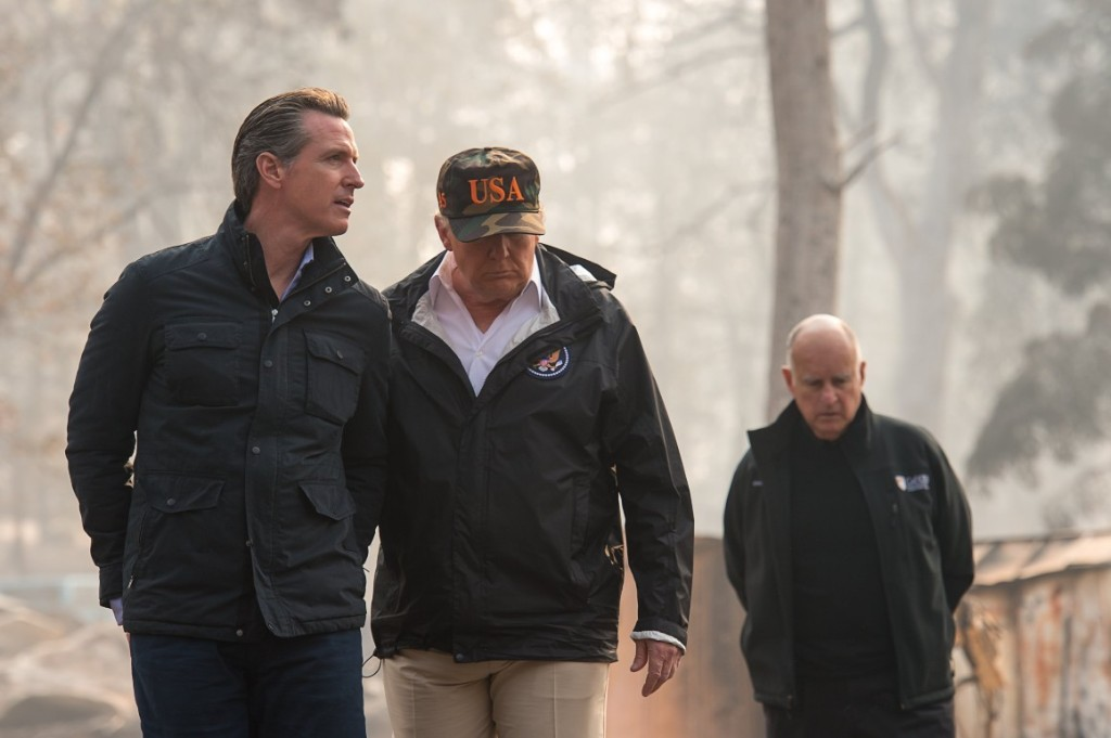 Trump privately conceded '50-50' climate change role in California wildfires