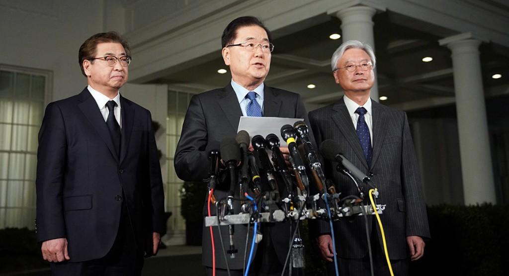 Trump agrees to meet Kim Jong Un, South Korean official says