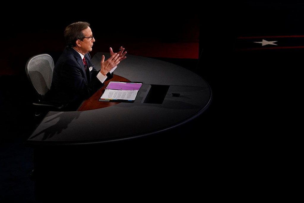 Chris Wallace faces criticism for letting candidates run wild in first debate