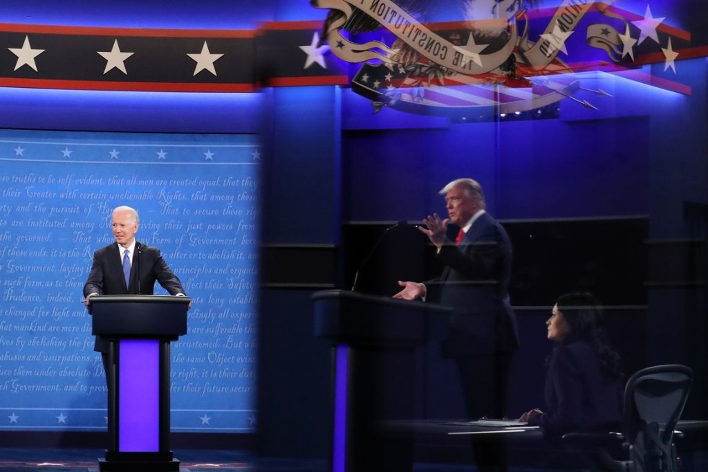 'The Debates, Like Everything Else in 2020, Were a Dumpster Fire'