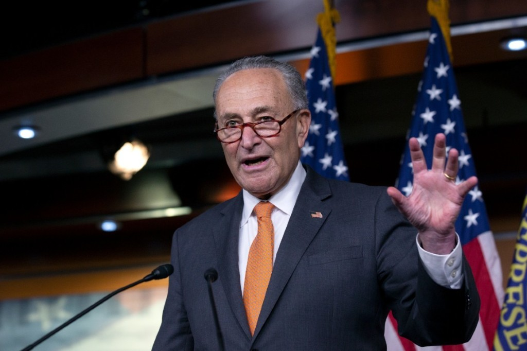 Schumer slams Republicans, Trump for handling of Russian election threats