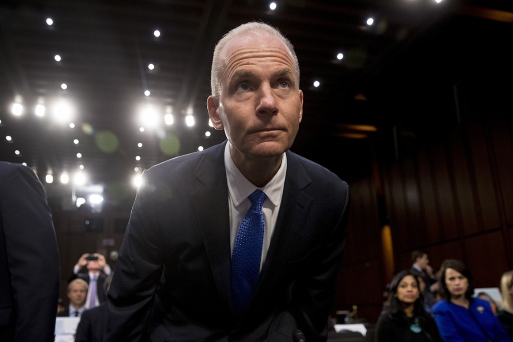 Boeing's CEO takes bipartisan heat in second 737 MAX hearing