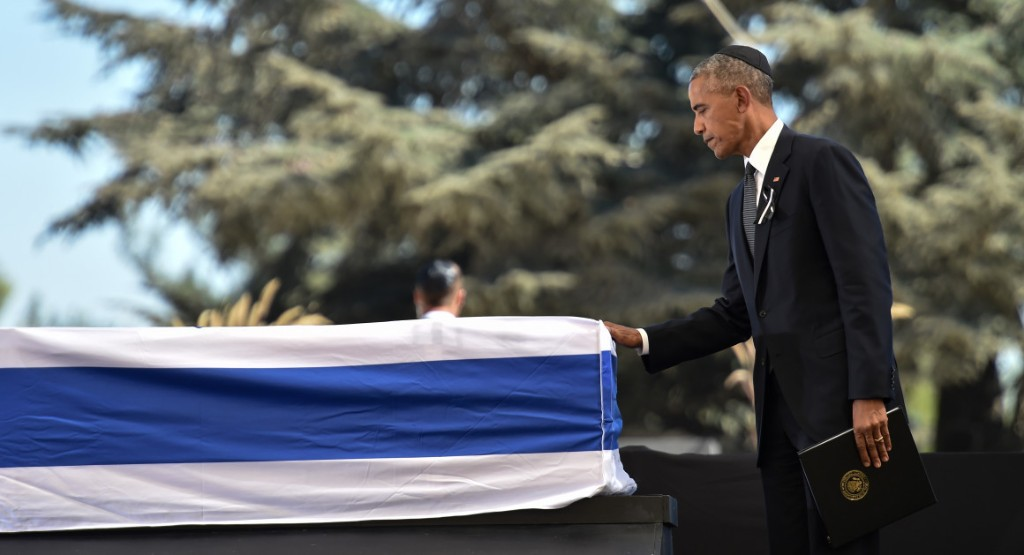 Obama on Peres: 'I could somehow see myself in his story'