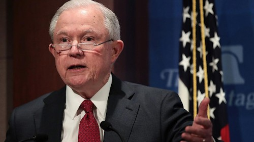 Sessions slams judges for blocking Trump policies