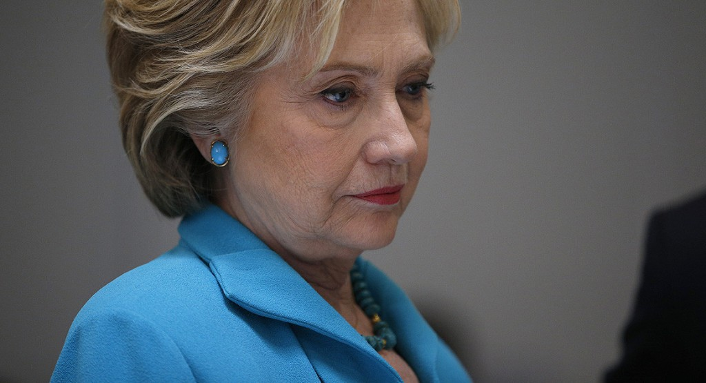 Emails block Clinton's pivot to positive