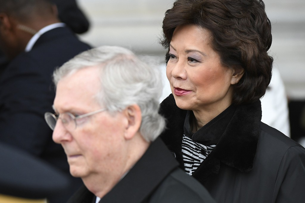 Emails reveal coordination between Chao, McConnell offices