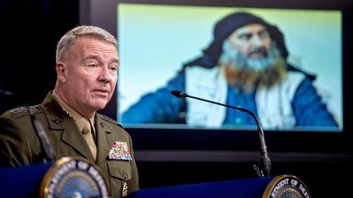 General won't confirm Trump's description of Baghdadi's death