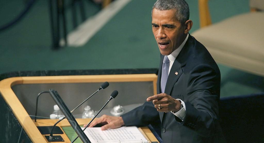 Obama swipes at Putin, Cheney and Trump in U.N. address