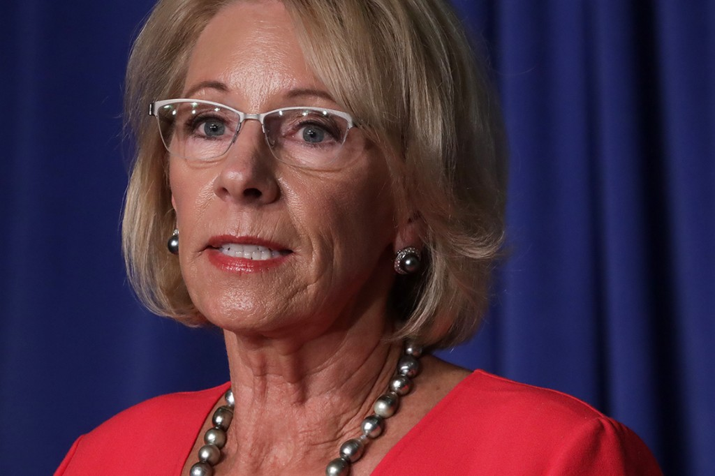 Not dangerous: DeVos defends schools reopening according to CDC guidelines
