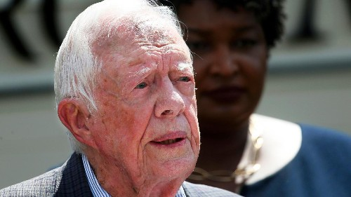 Jimmy Carter says a full investigation would show Trump lost in 2016