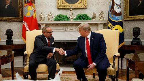 Trump and Bahraini Crown Prince talk oil and Iran