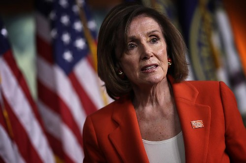 Pelosi tells Dems she wants to see Trump 'in prison'