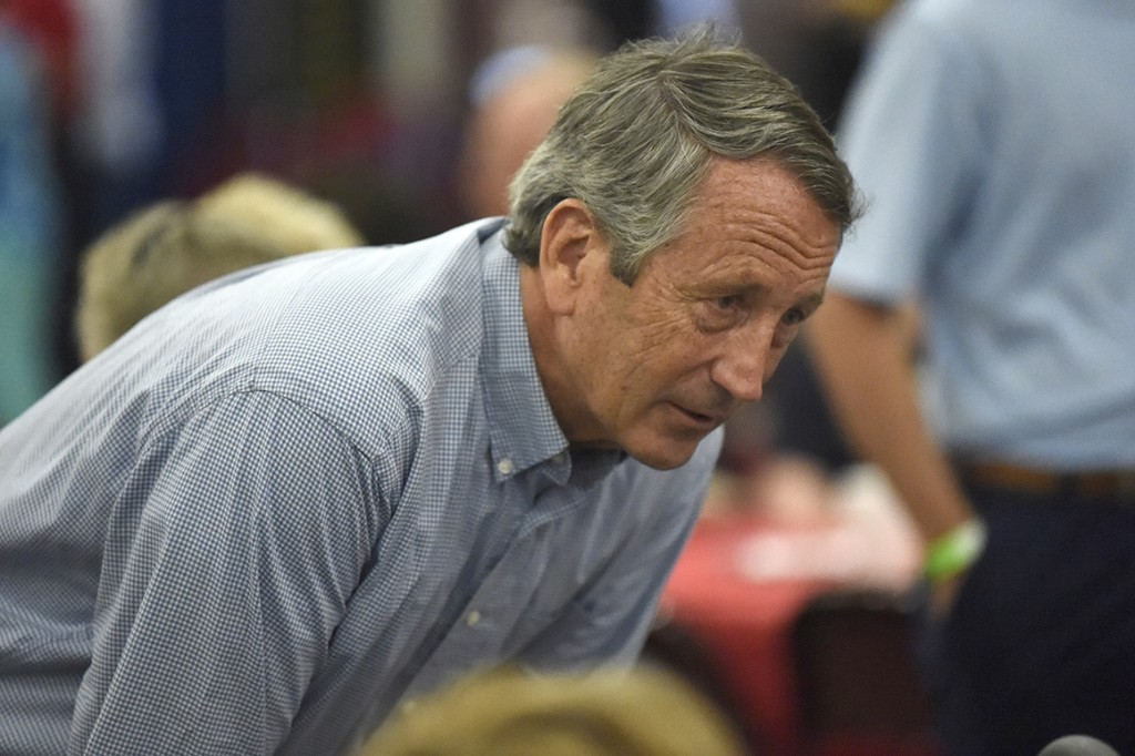 Trump takes aim at Mark Sanford, his newest GOP challenger