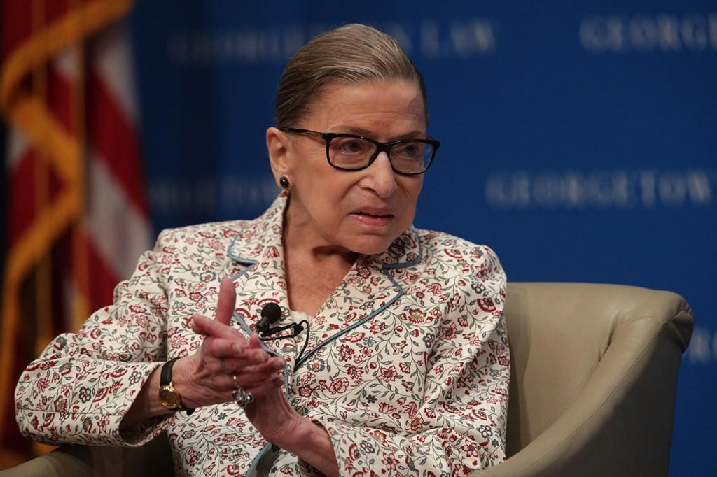 Justice Ginsburg temporarily halts Trump financial records subpoena