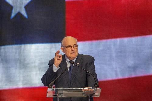 Democrats subpoena Giuliani as Trump lashes out