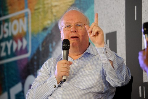 Karl Rove jumps into wireless battle that is dividing Trump world